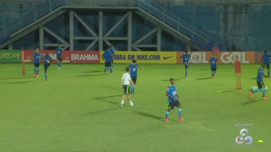 Em preparação para amistoso com México, Seleção Sub-20 faz 1º treino em Manaus