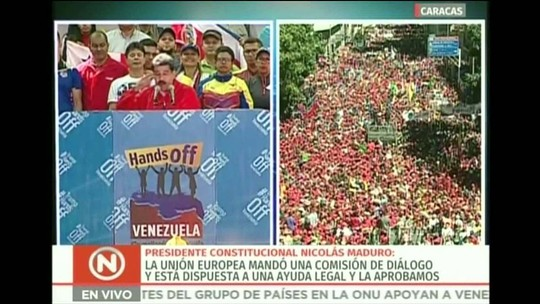 Maduro diz que não é mendigo e que está disposto a comprar toda comida que o Brasil quiser vender
