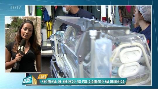 'Fizemos o possível', diz médica sobre a morte do bebê de grávida baleada no ES