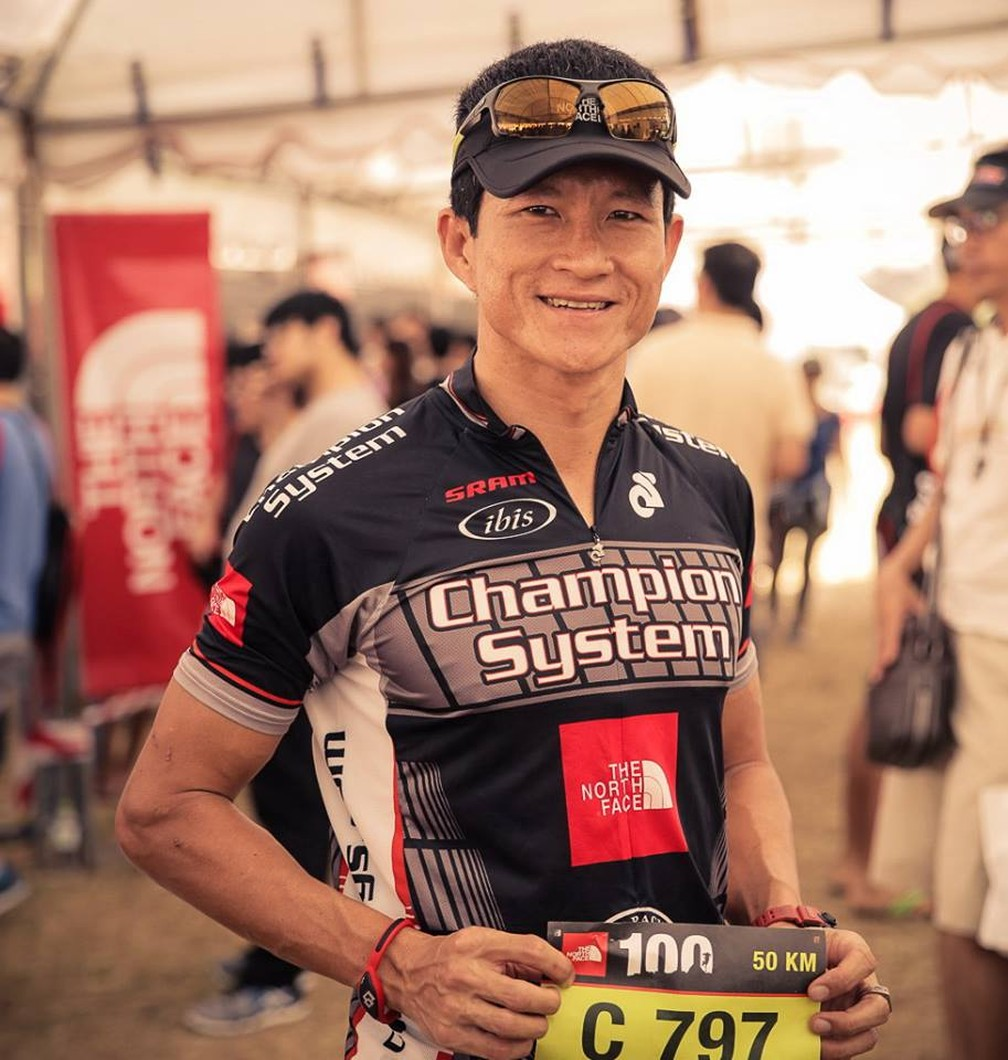 Atleta tailandês de corrida de aventura Saman Kunan, de 38 anos (Foto: The North Face 100/Facebook)