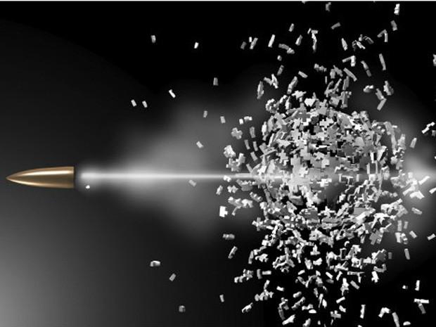 Pesquisadas há anos, balas teleguiadas são consideradas o 'santo graal' da balística (Foto: Reprodução/BBC)