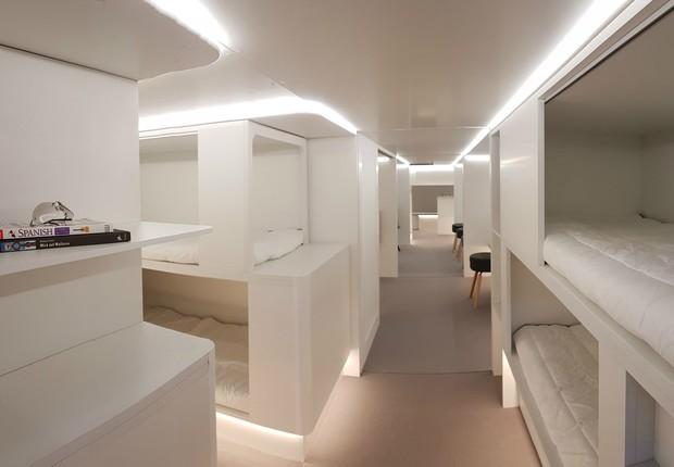 Airbus_dormitório (Foto: Divulgação)