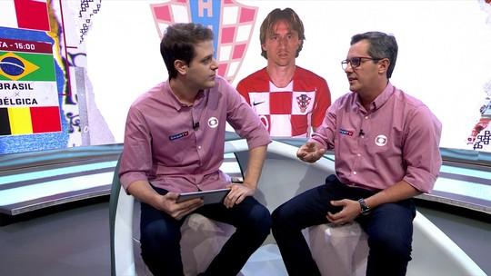 """Lino não se surpreende se Croácia chegar à final da Copa: """"Tem bola"""""""