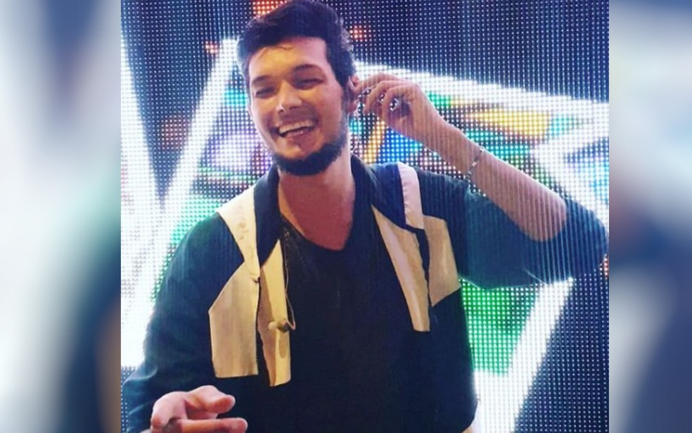 Cantor sertanejo Robson Satto em Goiás — Foto: Reprodução/Instagram