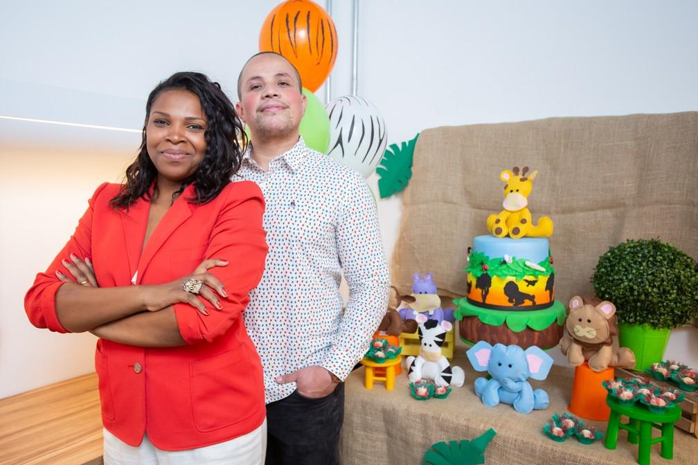No primeiro trimestre de 2019, Luana e Luís colheram os resultados dos investimentos que fizeram em 2018 em sua empresa de festas em domicílio — Foto: Celso Tavares/G1