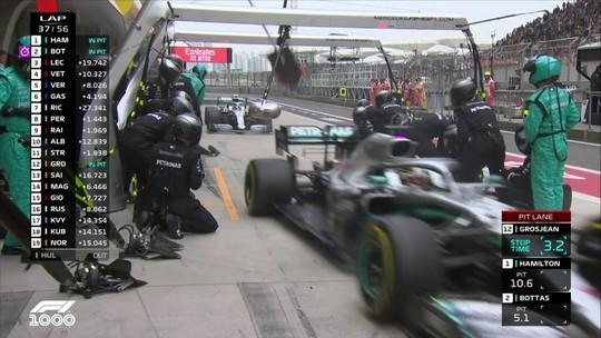 Toto Wolff, chefe da Mercedes, foi o idealizador do pit stop duplo da equipe no GP da China