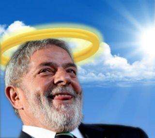 Lula, o santo (Foto: Arquivo Google)