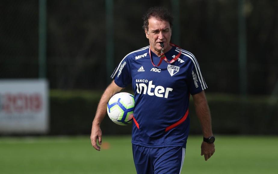 Falamos com Cuca: técnico diz ver margem para São Paulo melhorar, mas rechaça obrigação por título