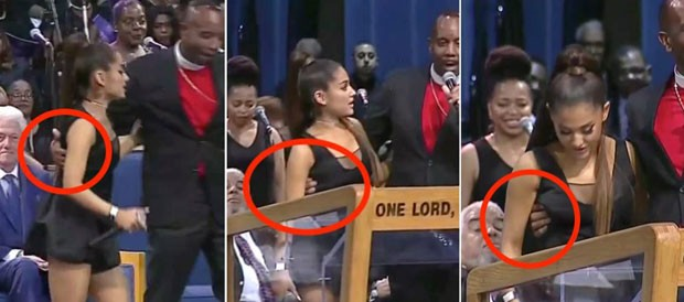 Resultado de imagem para Ariana Grande em funeral