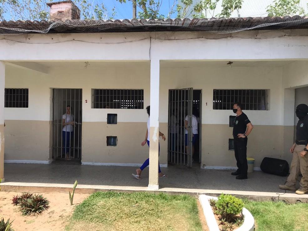 Presídios do RN não têm nenhum caso de Covid-19, segundo a Seap — Foto: Ayrton Freire/Inter TV Cabugi
