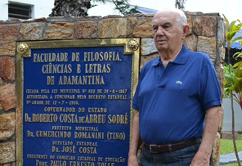 Prefeitura de Adamantina comunica morte do ex-prefeito e ex-vereador Tino Romanini