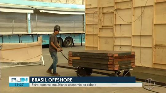 Mais de 50 mil pessoas são esperadas na Brasil Offshore que começa nesta terça em Macaé, no RJ