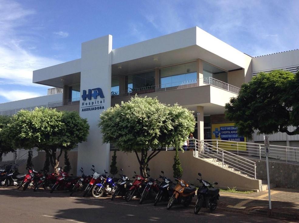 Hospital Nossa Senhora Auxiliadora, onde a mulher está internada — Foto: Divulgação/Hospital Nossa Senhora Auxiliadora