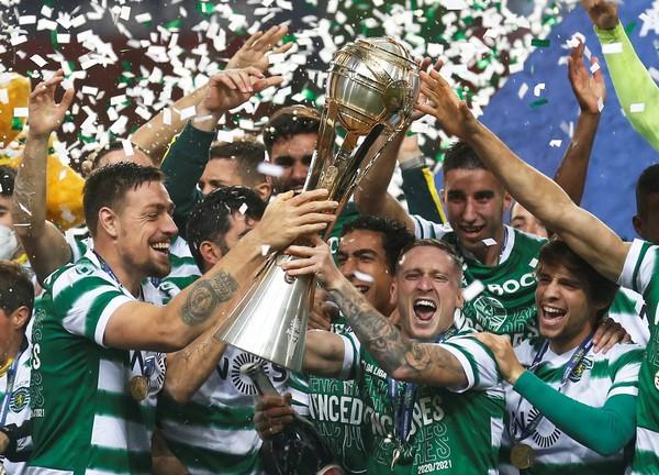 Sporting Vence O Braga E Conquista O Titulo Da Taca Da Liga De Portugal Futebol Internacional Ge
