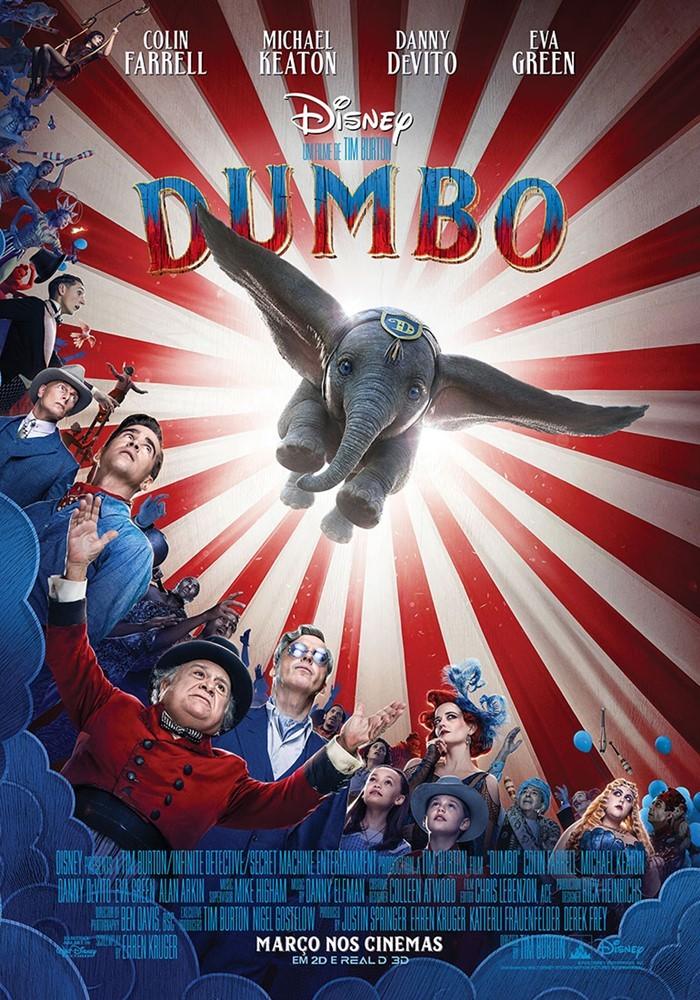 Cartaz circense de 'Dumbo' (Foto: Divulgação)