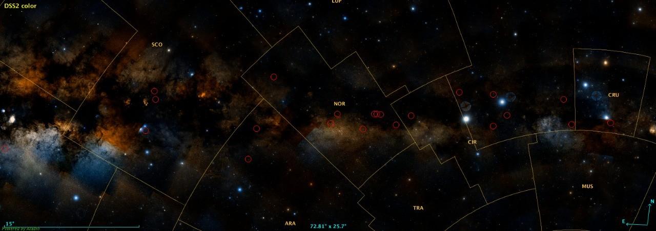 Estudante da UFMG descobre 25 aglomerados de estrelas e amplia conhecimentos sobre a Via Láctea