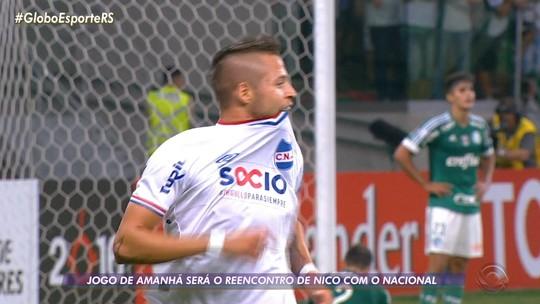 """Como Nico virou """"El Diente"""": uruguaio tenta retomada pelo Inter em volta às origens"""