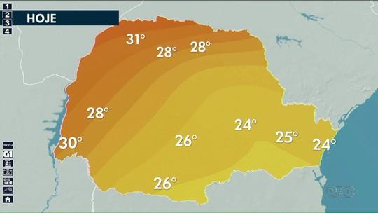 Previsão de calor nos próximos dias no noroeste