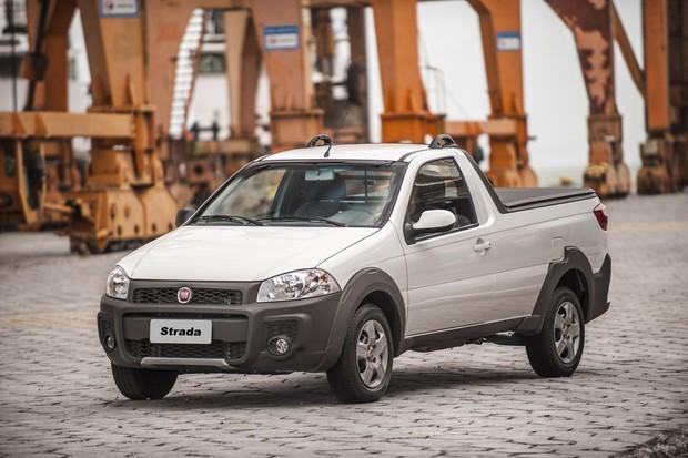 Fiat Strada Hard Working (Foto: Divulgação)