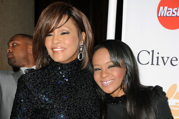 Whitney Houston e Bobbi Kristina Brown em 2011 (Foto: Getty Images)