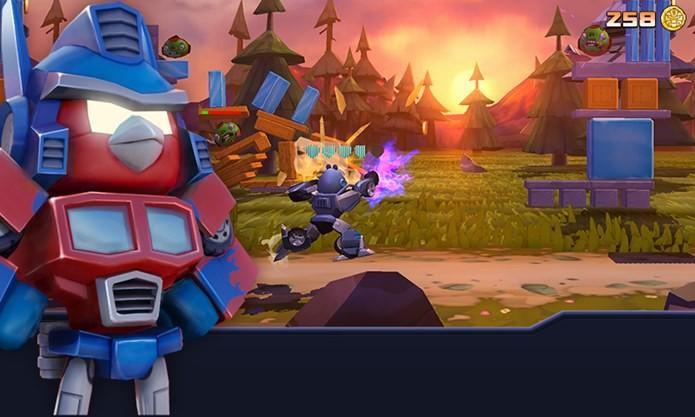 Jogo dos Transfomers e Angry Birds chega detonando no Android (Foto: Divulgação)
