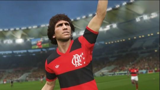 Zico é escolhido como um dos embaixadores do Pro Evolution Soccer 2018