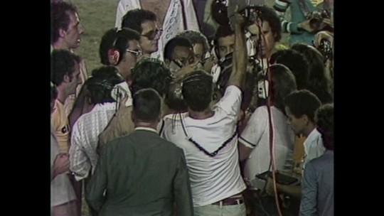 90 anos: com Pelé, Garrincha e 100 mil, duelo Atlético-MG x Flamengo coleciona histórias além de 1981