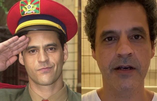 """No elenco de """"Sob pressão"""", Bruno Garcia interpretou Dagoberto, secretário particular do General Camacho (Foto: TV Globo - Reprodução/Instagram)"""