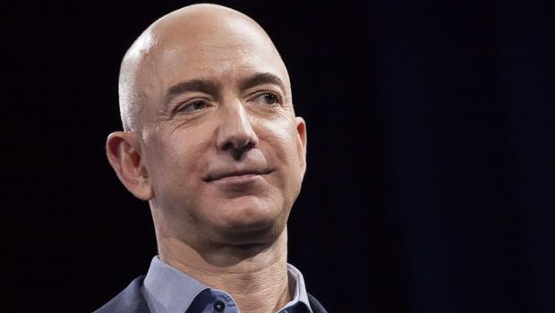 Jeff Bezos, da Amazon (Foto: David Ryder/Getty Images)