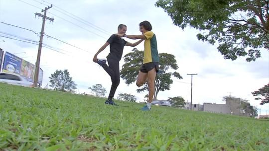 Franck Caldeira se prepara buscando vaga nas Olimpíadas de 2020