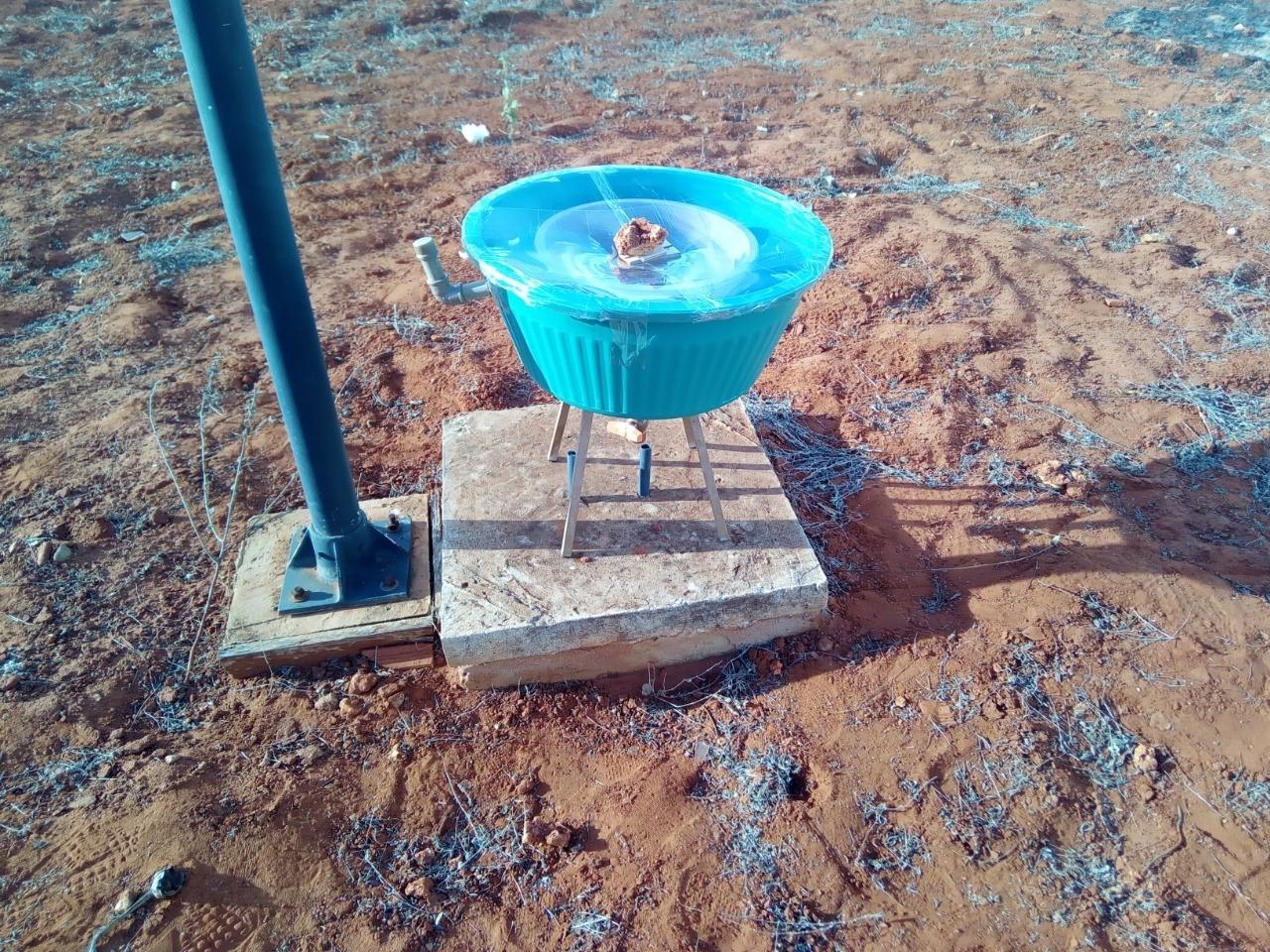 Estudantes baianos desenvolvem protótipo capaz de transformar água salobra em potável