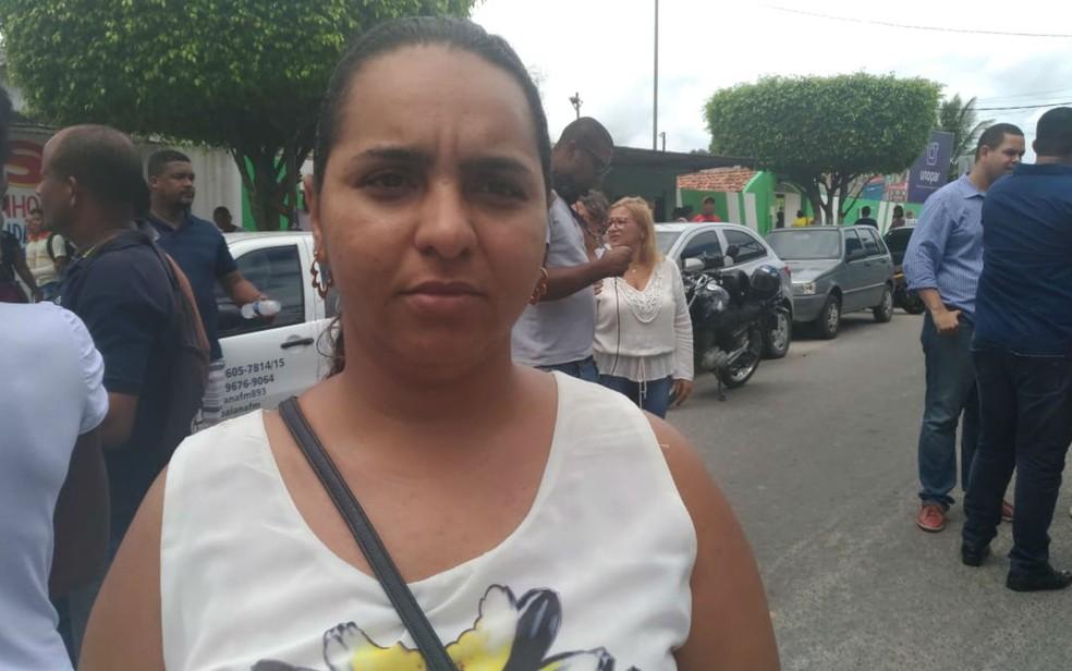 Sobrinha de Nadinho diz que considerava ele um pai e um amigo (Foto: Juliana Almirante/ G1)