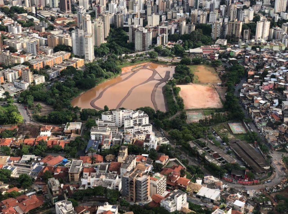 Sem plano de segurança, barragem Santa Lúcia é vistoriada por equipes da Prefeitura de BH
