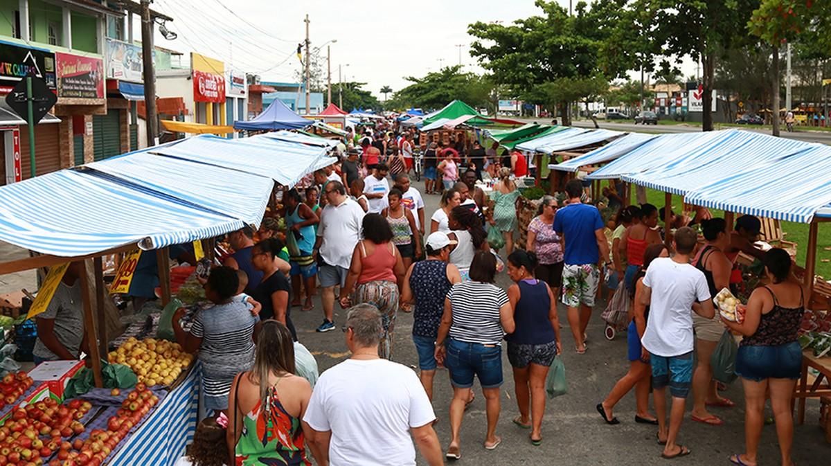 Nova feira livre será inaugurada nesta sexta em Rio das Ostras, no RJ - G1