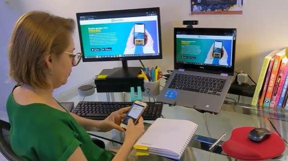 Aplicativo gratuito criado em SC ajuda professores nas aulas à distância