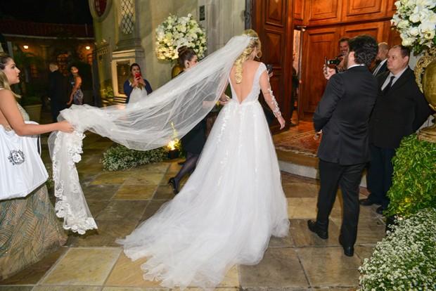Casamento de Tata Estaniecki e Júlio Cocielo (Foto: Leo Franco/AgNews)