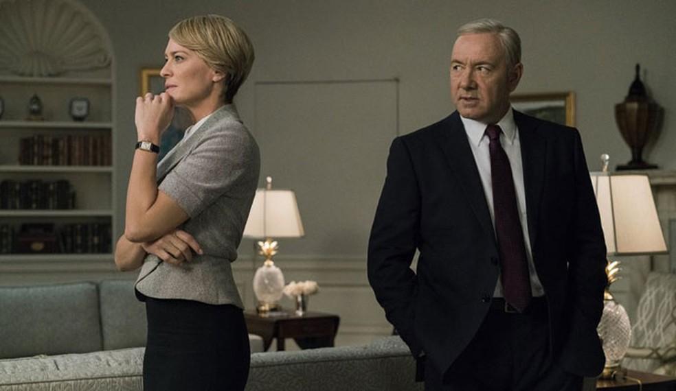 Seriado House of Cards é uma das produções próprias do Netflix (Foto: Divulgação/Netflix)