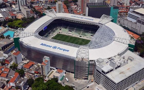 O estádio Allianz Parque, em São Paulo, onde o músico se apresenta dia 15 de outubro (Foto: Divulgação)