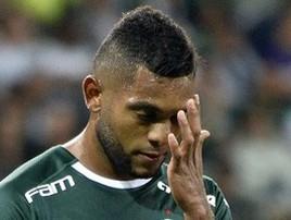 Sem vez com Felipão, 'estrela' Borja já fala em deixar o Verdão (Marcos Ribolli)