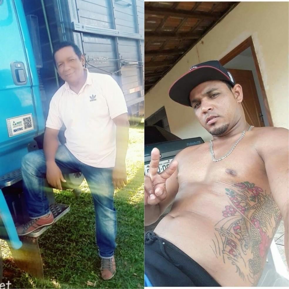 Valmir Antônio e João Paulo dos Santos morreram em carro arrastado por correnteza (Foto: Arquivo Pessoal )