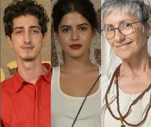 Johnny Massaro, Julia Dalavia e Cássia Kis | TV Globo