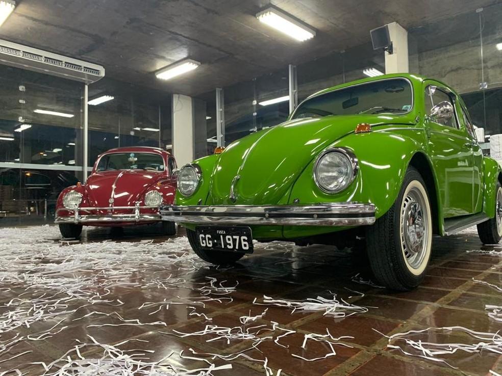 Fusca foi o carro mais vendido entre 1938 e 2003 — Foto: Divulgação