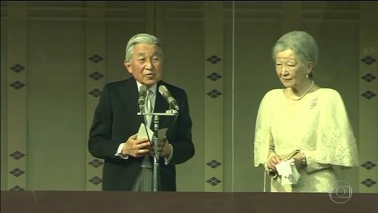 Imperador Akihito, do Japão, vai abdicar em 30 de abril de 2019