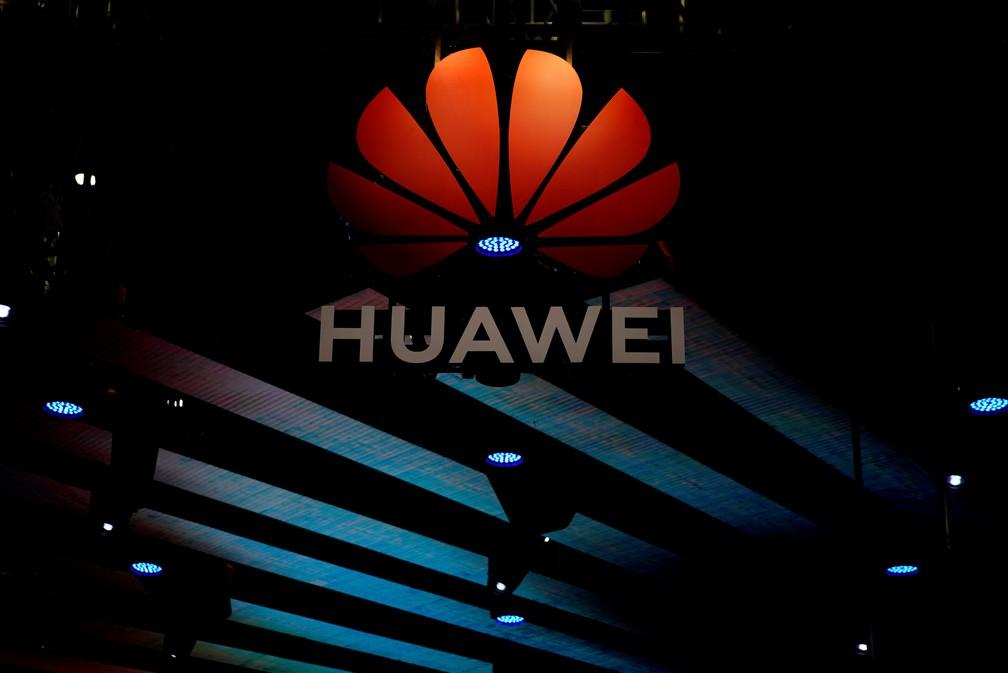 Huawei apresentou tecnologias para o setor automobilístico durante o Saláo de Xangai. — Foto: REUTERS/Aly Song