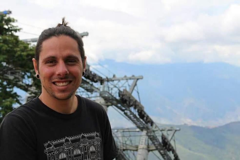 O estudante Lucas Assumpção teve um AVC na Colômbia e família criou campanha para trazer o jovem de volta (Foto: Arquivo Pessoal)