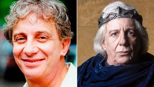 Foto: (Acervo TV Globo (esq.) e João Miguel Júnior/TV Globo (dir.))