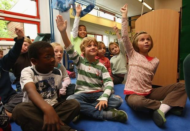 Crianças; escola; educação (Foto: Sean Gallup/Getty Images)