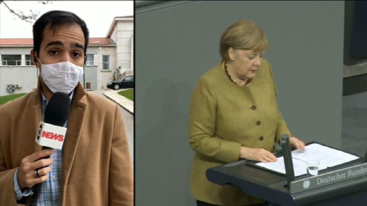 Merkel: perigo de nova onda na Alemanha 'é muito real'