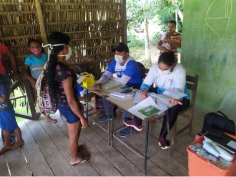 Saúde de Cruzeiro do Sul leva atendimento médico a 8 comunidades de difícil acesso no Rio Liberdade