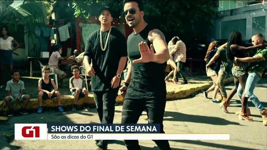 Dicas do G1 de música têm shows de Paula Fernandes e Luiz Fonsi em São Paulo